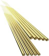 Sourcingmap/® 5/pi/èces Golden laiton 200/mm x 3/mm tige ronde Roulement pour tour CNC Machine