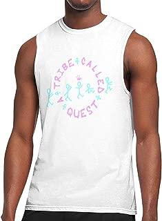 KABASHIJI Classic-A-Tribe-Called-Quest Men's Tank-Top Sleeveless T Shirt 100% Cotton Bodybuilding Tshirt Black