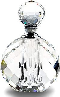 art deco glass scent bottles