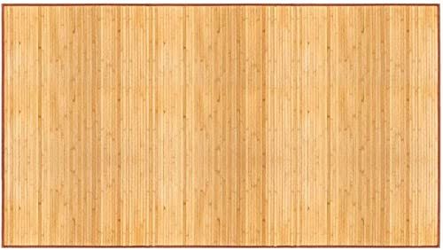 """wholesale Bamboo sale Floor Mat 24"""" wholesale x 72"""",Natural Bamboo,Light Wood outlet online sale"""
