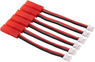 OliRC 6pcs JST to PH 2P for E-Flite 120 SR to Blade mCP-X (Ultra Micro) Lipo Battery Adapter Cables(C56-6)