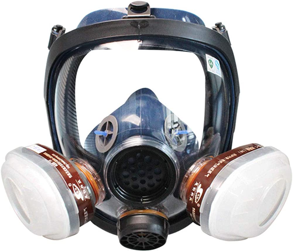 Challenge the lowest price of Japan WORKCARE Full Facepiece Max 62% OFF Reusable Face Respir Vapor Mask Organic