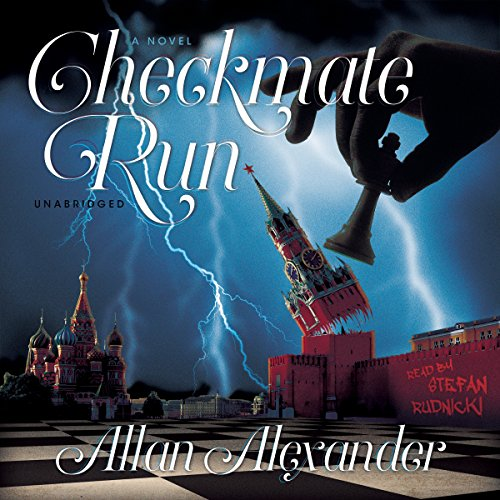 Checkmate Run audiobook cover art