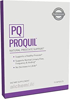 AlchemLife ProQuil™ – 15 Softgels – Natural Pygeum Prostate Supplement for Men with Saw Palmetto with Pumpkin Seed Extract
