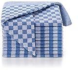 Blumtal Strofinacci Cucina, Canovacci Cucina 100% Cotone, Stracci Cucina, Set Strofinacci Cucina in Cotone (50x70cm), 10 Pezzi, Colore Blu
