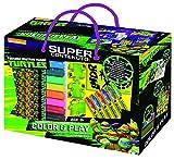 6 penne GEL 12 pennarelli 1 puzzle da colorare + 1 gioco dell'oca 30 memory cards 1 foglio di stickers