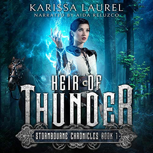 Heir of Thunder audiobook cover art