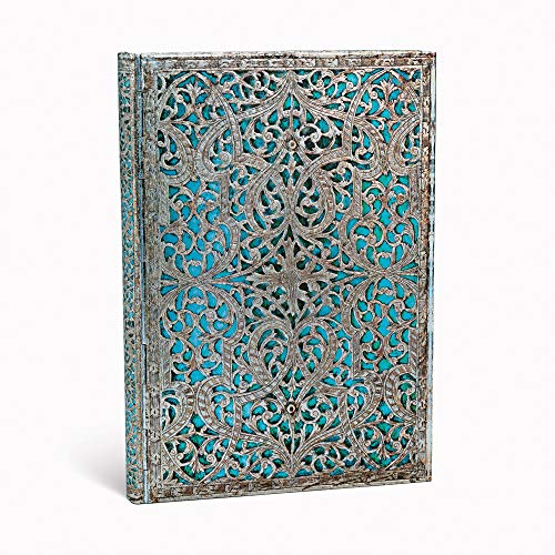 Paperblanks Hardcover Notizbücher Silberfiligran-Kollektion | Adressbücher | Midi (130 × 180 mm) (Address Books)