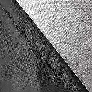 AWNIC Funda Mesa Jardín Funda Muebles Patio Terraza Impermeable Tela Oxford Resistente al Desgarro 210X120X71cm
