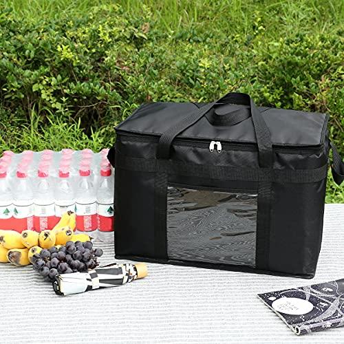 WZhen - Scatola termica termica termica per biberon, borsa per il pranzo, per picnic, viaggi, isolamento termico, 51,4 l