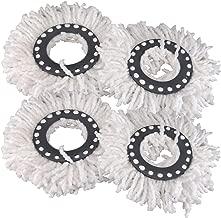 Microfiber Mop Head Refill (White) -4 Pieces