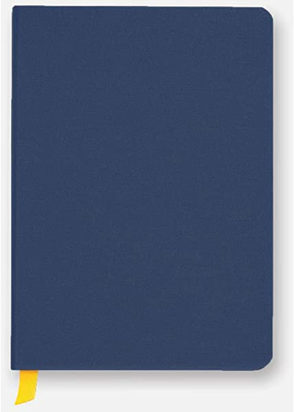 Baron Fig Confidant Ruled Hardcover 192 Page Notebook Midnight Blue