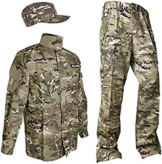 SHENKEL 迷彩服上下 パトロールキャップセット XL マルチカム bdu-cm01-XL