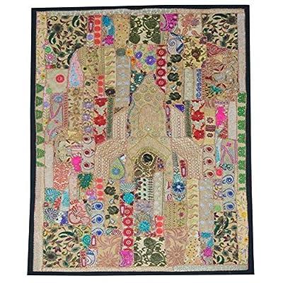 Tamaño: 51x59 pulgadas (130x150cm) MATERIAL: Hecho de tela de poliéster de alta calidad y ecológico. Es ligero, suave, duradero y cómodo. Es un excelente tapiz, arte de pared, decoración de pared, ropa de cama bohemia, colcha hippie / hippy, manta de...