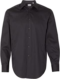 Calvin Klein 13CK035 Slim Fit Non-Iron Dobby Pindot Shirt