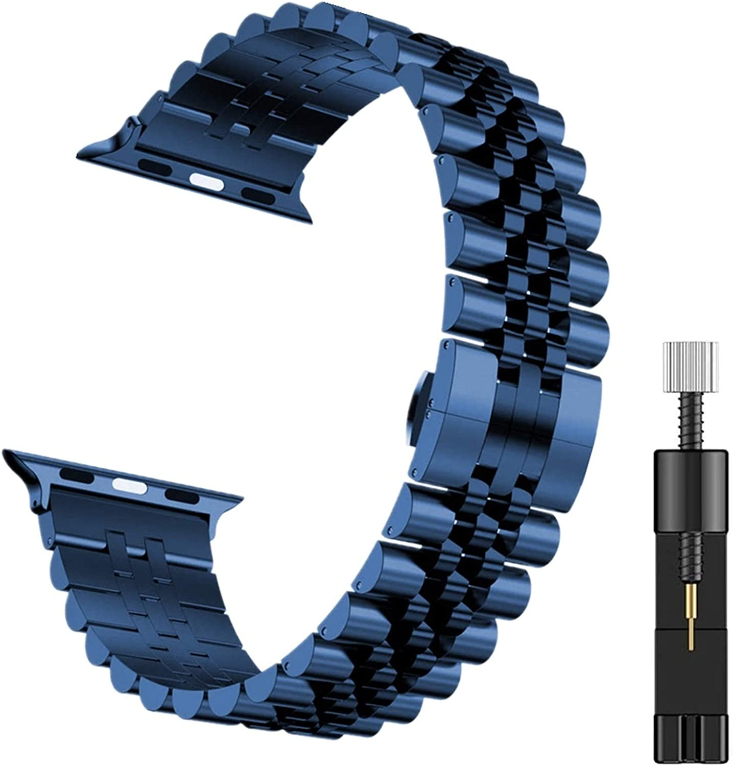 KAAGGF Wristband for IWatch Free shipping anywhere in the nation Max 78% OFF 6 Stainless 38mm 40mm Bracelet Steel