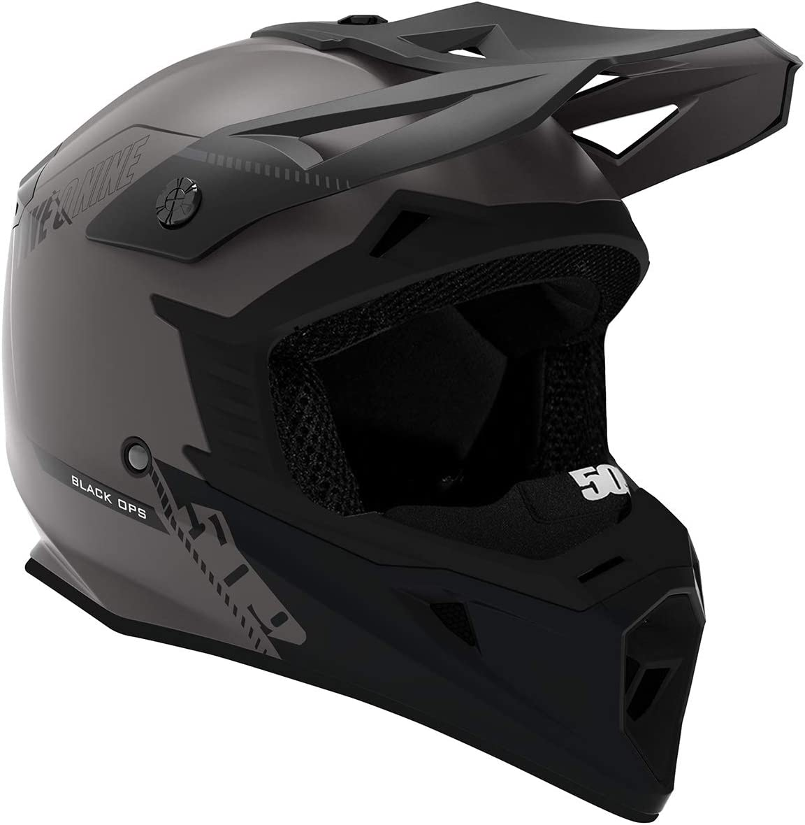 509 Tactical Helmet Gray Orange - 2X-Large