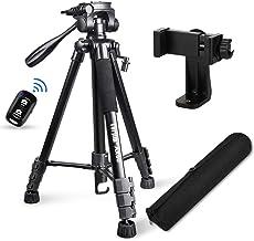 "Torjim 60"" Camera Tripod with Carry Bag, Lightweight..."