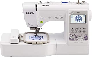 "Brother, SE600, Computerized Machine with 4"" x 4"" Area, 80 Embroidery Designs,.."