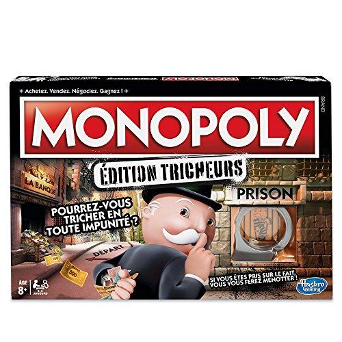 Monopoly - Jeu de Societe Tricheurs - Jeu de Plateau - Versi