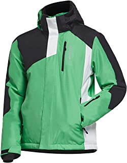 BALEAF Men's Waterproof Ski Jacket Mountain Windproof Winter Snow Coat Rain Jacket