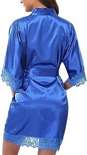 AIni Vestido De Sat/éN para Mujer Ropa Interior De Gran Tama/ñO Beb/é Mu/ñEca Traje Nupcial Ni/ñO Forma De Bolsillo Traje Largo