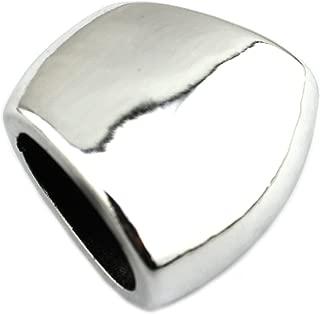 PendantScarf Plastic Chunky Jewelry Scarf Jewellery Slides Tube (Pack of 12)