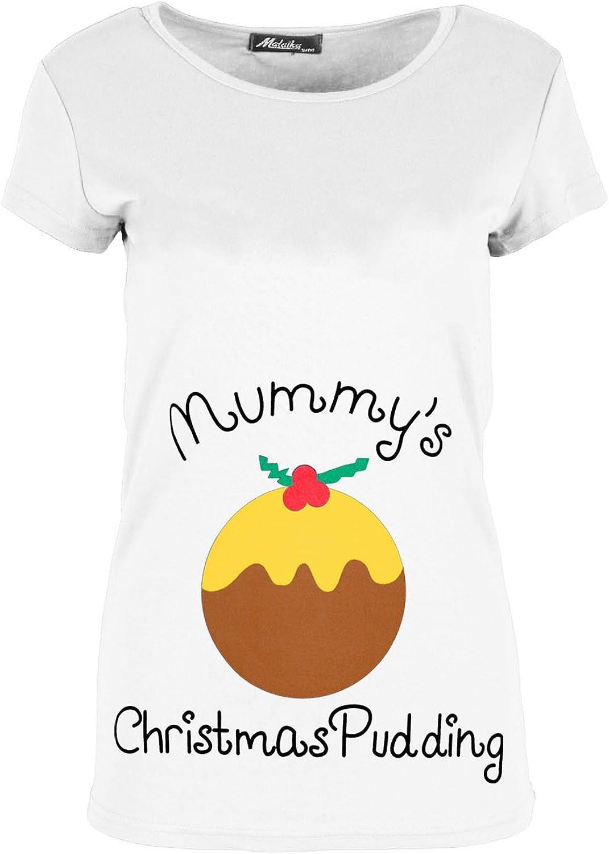 Fashion Star Womens Reindeer Gingerbread Merry Xmas T Shirt