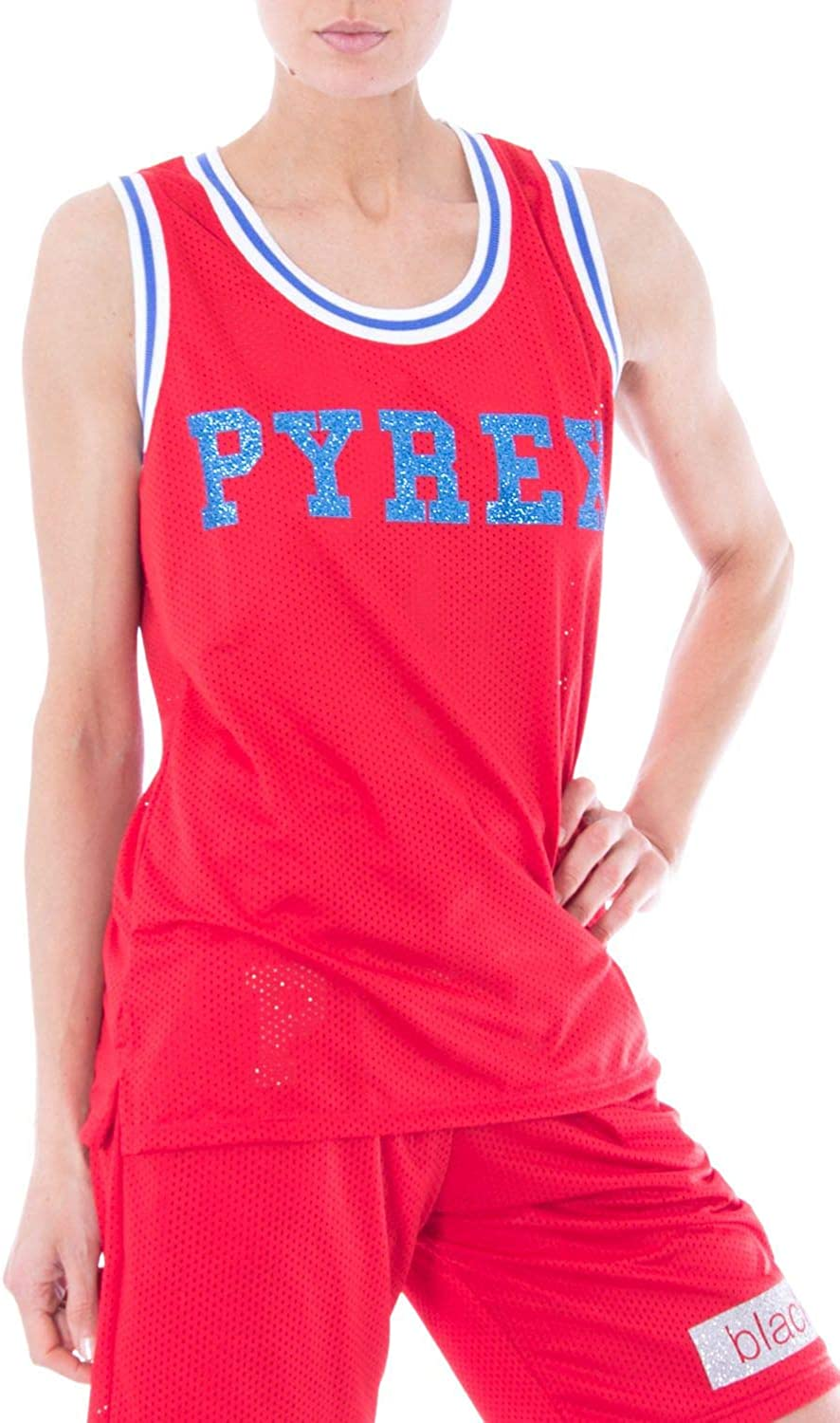 Pyrex Women's 33397RED Red Polyester Top