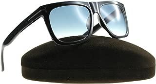 FT0513 01W Shiny Black Morgan Square Sunglasses Lens...