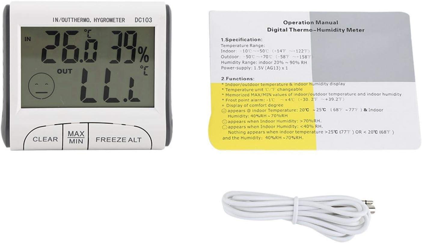 DFKEA Digital Freezer Ranking TOP6 Thermometer Selling Indoor Sen Temperature Outdoor