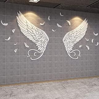 20 große Flügel Perlen VOGEL XL silber Metall Engelsflügel 35mm Schutzengel