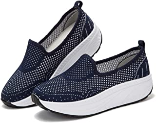 XL_nsxiezi Zapatillas de Plataforma Mujer Transpirables Casuales.