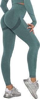 DUROFIT Leggins Donna Push up Leggings Sportivi Vita Alta Anticellulite Pantaloni Palestra per Fitness Yoga Pant