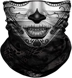 Seamless Neck Gaiter Shield Scarf Bandana Face Mask...