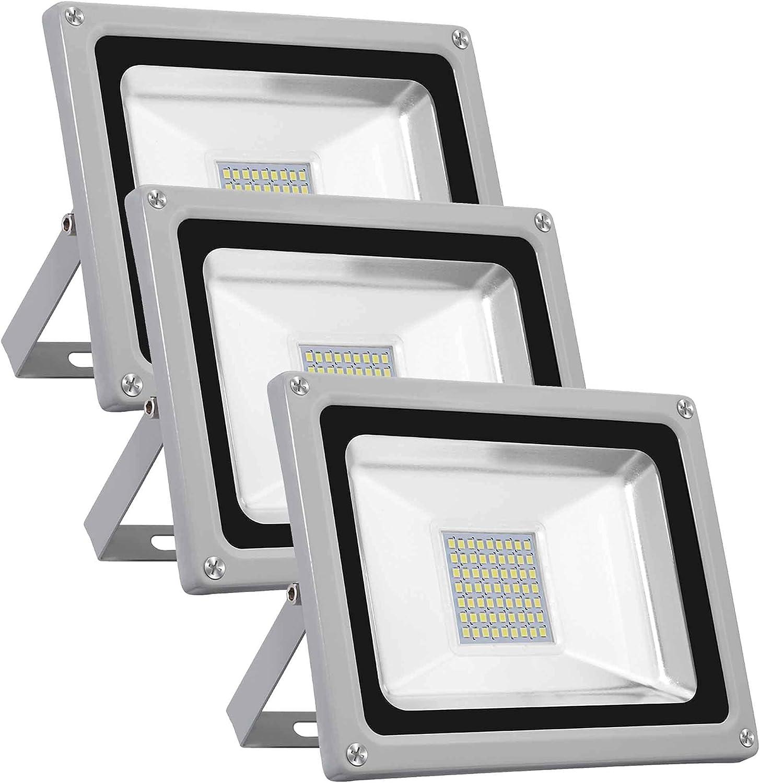 LED Flood Ultra-Cheap Deals Light Super 1 year warranty Waterpr Work Bright Security
