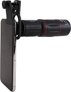18x25mm 単眼望遠鏡 携帯電話 望遠HDケラレなし写真単眼レンズズーム携帯電話ホルダー写真望遠鏡