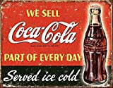 Mr.sign Coke Coca Cola Blechschilder Vintage Metall Poster