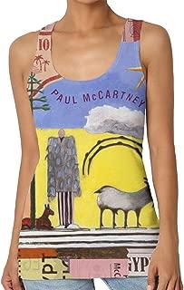 Paul McCartney Egypt Station Womans Classic Fit Tank Top Tshirts Black