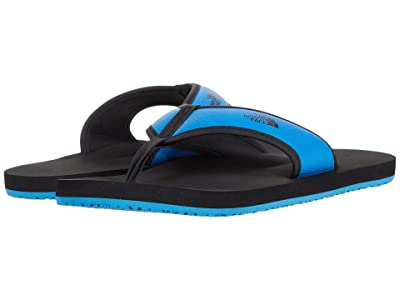 The North Face Kids Base Camp Flip-Flop (Toddler/Little Kid/Big Kid) (TNF Black/Clear Lake Blue) Kids Shoes