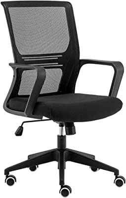 Zcx Office Chair/Home Office Desk Chairs/Back Swivel Desk Chair with Torsion Control