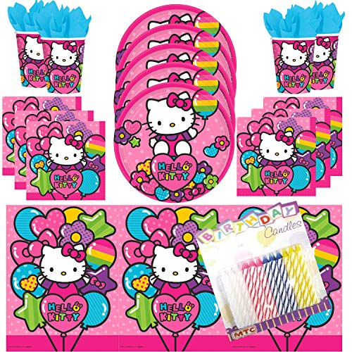 Hello Kitty Party Supplies (Pack of 16)