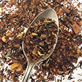 Plum Deluxe Pear Cinnamon Herbal Tea, Holiday Seasonal Organic Loose Leaf Tea, Gourmet, Made in the USA (15-20 Cups from 1 Oz. Pouch)