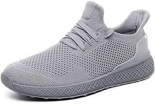 8HAOWENJU Men's Lightweight Casual Walking Shoes Men's Breathable Sports Fitness Jogging Tennis Shoes, Multi-Color Optional