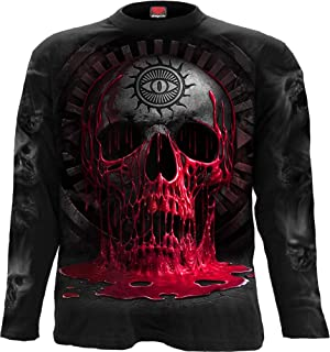 Spiral Direct DRAGON FURNACE Long Sleeve T shirt//Biker//Tattoo//Wild//Fire//Goth//Top