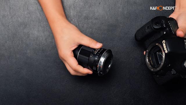 K F Concept M42 Canon Eos Objektiv Mount Adapter Ring Elektronik