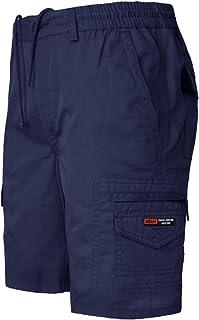 Unbranded Mens Big King Size Shorts Cargo Combat Elasticated Waist Pockets Chinos 3XL-6XL