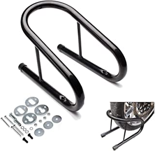 Motorcycle Stand for Honda CRM-F 125//250//450//500 R Black Paddock Front Wheel Chock Transport Universal ConStands Easy Transport Fix