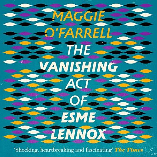 The Vanishing Act of Esme Lennox cover art