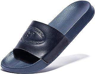 [Ducan] シャワーサンダル スリッパ メンズ 軽量 滑り止め おおきいサイズ スポーツサンダル ルームシューズ ベランダ 室内/室外履き